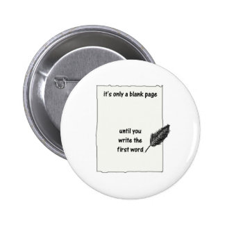 It's only a blank page... 2 inch round button