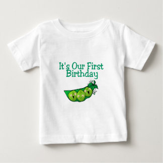 It's Our First Birthday (2) Baby T-Shirt