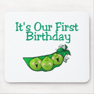 It's Our First Birthday (2) Mouse Pad