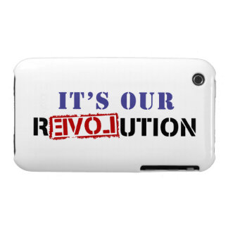It's Our rEVOLution iPhone 3 Case-Mate Case