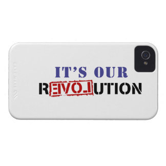 It's Our rEVOLution iPhone 4 Case