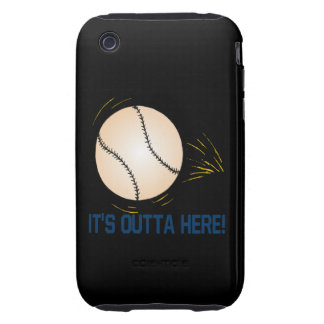 Its Outta Here iPhone 3 Tough Case
