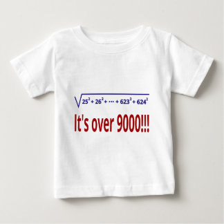 It's over 9000! baby T-Shirt