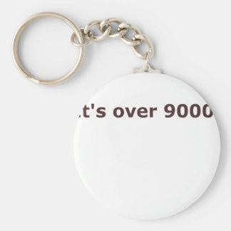 It's over 9000! keychain