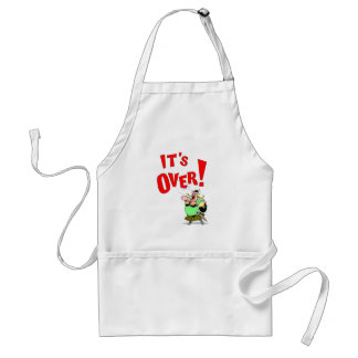 Its OVER! Adult Apron