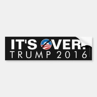 It's Over Donald Trump Bumper Sticker