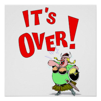 Its OVER! Poster