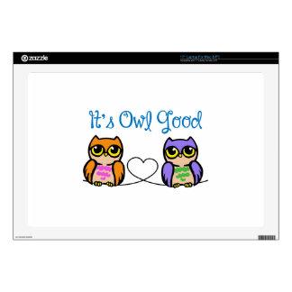 "Its Owl Good 17"" Laptop Decals"