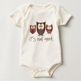 It's Owl Good Baby Bodysuit