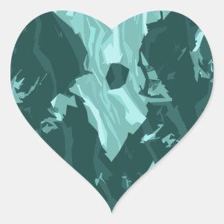 its owl good heart sticker