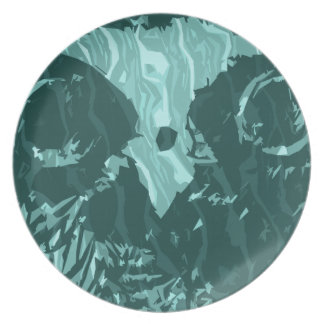 its owl good melamine plate