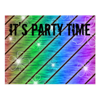 It's Party Time! Design Postcards