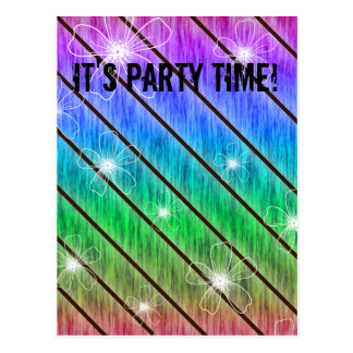 It's Party Time! Design Post Card
