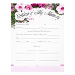 It's Party Time Personalized Letterhead