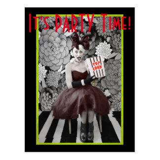 It's PARTY Time! Postcard