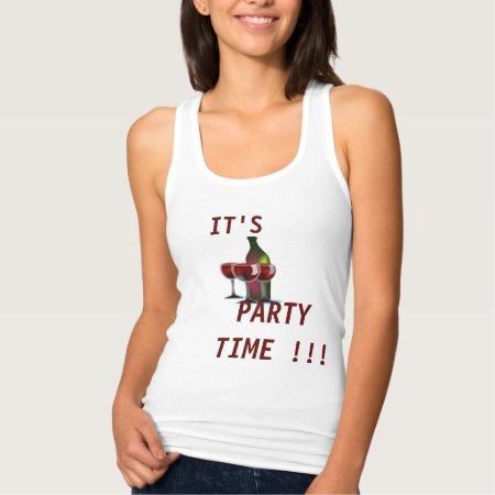 It's Party Time Tank Top