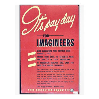 It's Pay Day For Imagineers Flyers