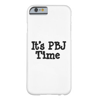 Its PBJ Time Barely There iPhone 6 Case