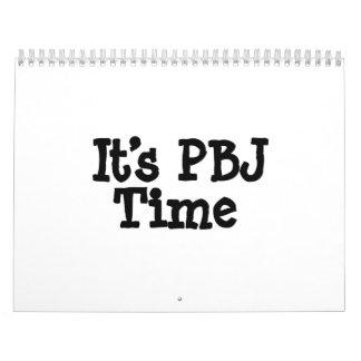 Its PBJ Time Calendar