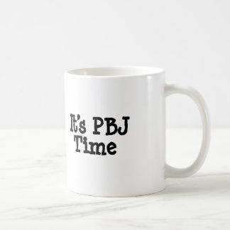 Its PBJ Time Coffee Mug
