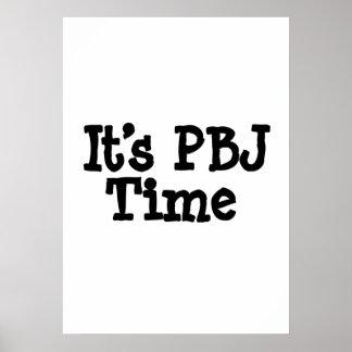 Its PBJ Time Poster