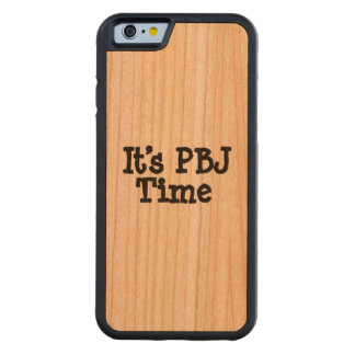 Its PBJ Time Carved® Cherry iPhone 6 Bumper