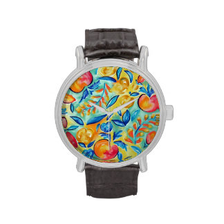 it's peach time! wristwatches