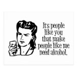 It's People Like You... Postcard