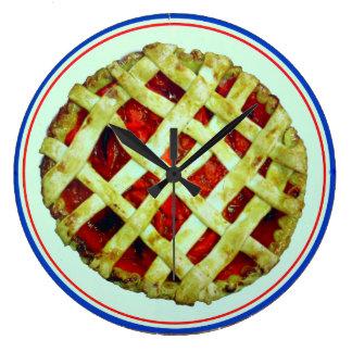 it's pie o'clock somewhere clock