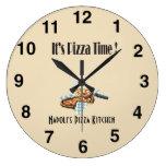 Its Pizza Time - Pizza Palor Clock