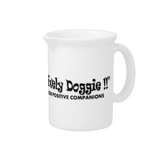 its positively doggie beverage pitchers