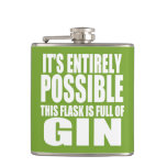 It's Possible This is my Gin Flask