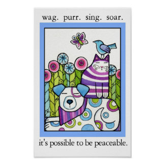 Its Possible to be Peaceable Poster