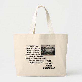 IT'S PRAISE TIME BAG