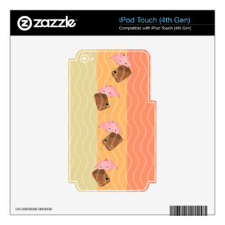it's rainiing ice cream decal for iPod touch 4G