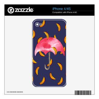 It's Raining Bananas Skin For The iPhone 4