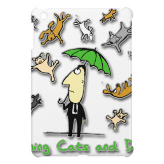 It's Raining Cats and Dogs iPad Mini Cover