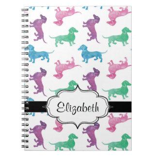 It's Raining Dachshunds Notebook
