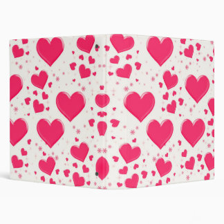 It's Raining Hearts Binder