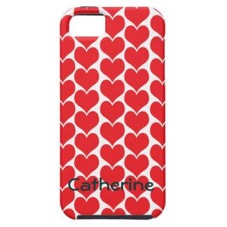 It's Raining Hearts iPhone 5 Case