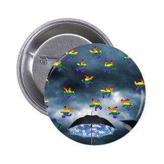 It's Raining Men! Pinback Buttons