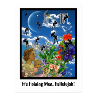 It's Raining Men, Hallelujah! Postcard