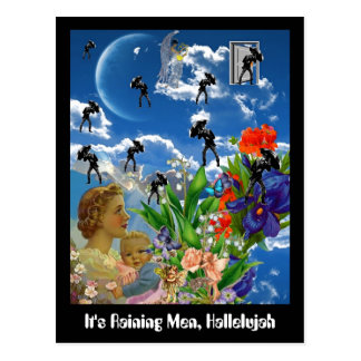 It's Raining Men, Hallelujah Postcard
