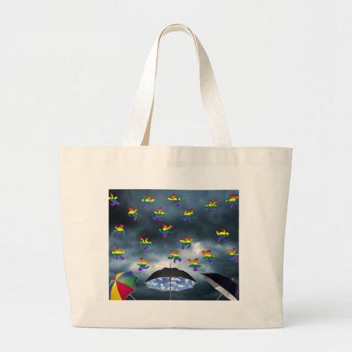 It's Raining Men! Jumbo Tote Bag
