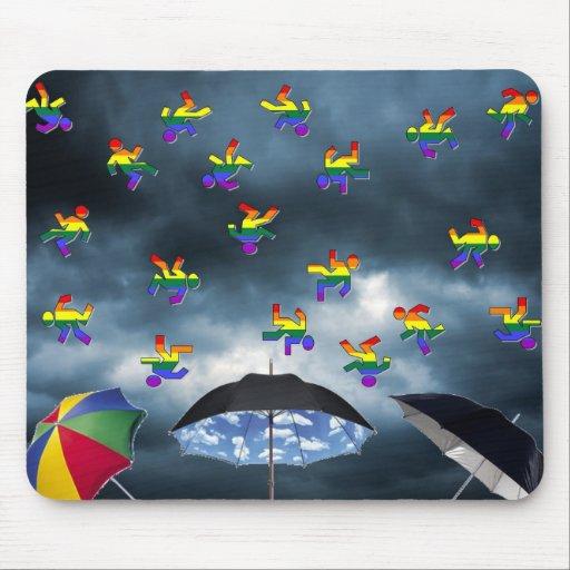 It's Raining Men! Mouse Pad