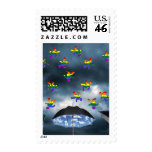 It's Raining Men! Postage Stamp