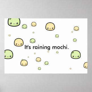 It's Raining Mochi Poster