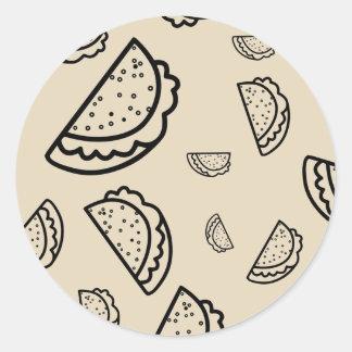 It's Raining Tacos Sticker