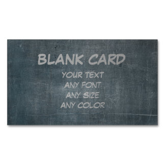 Its Real Chalk - Blank Card Business Card Magnet