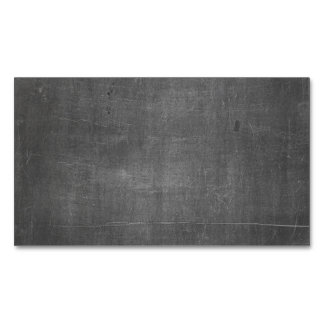 Its Real Chalk - Blank Chalk Board Business card